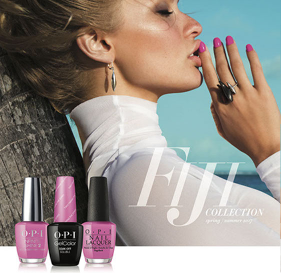 image of OPI Fiji product range