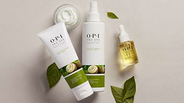 image of OPI spa products