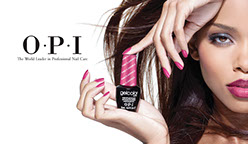 image fo an OPI nails advert